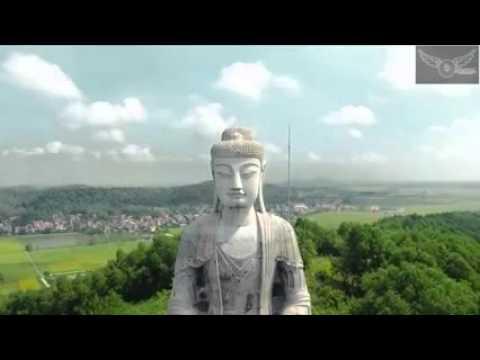 Chùa Phật Tích nhìn từ trên cao full HD không che