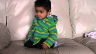 My son (harman Basra) dancing on Jazzy B Song (naag 2) when he was only less then 1 year......