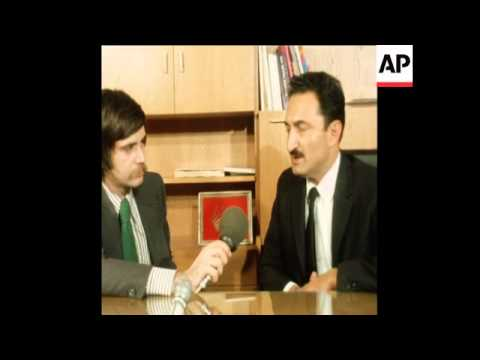 Interview With New Prime Minister Designate Of Turkey Bulent Ecevit - 1974