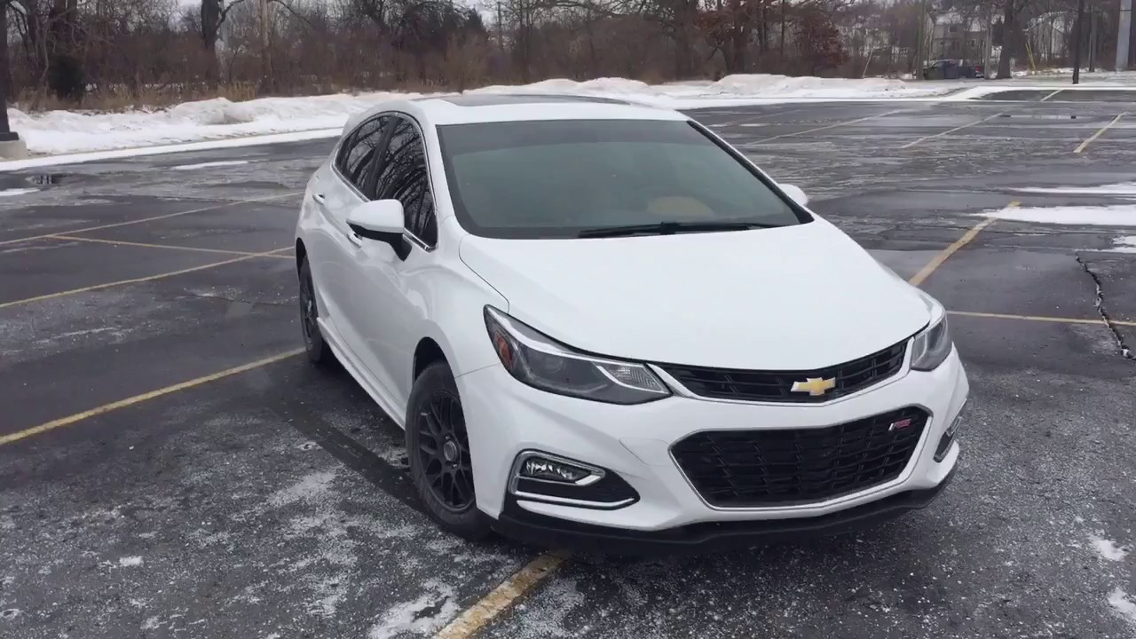 2017 chevy cruze hatchback premier w rs package update new car youtube. Black Bedroom Furniture Sets. Home Design Ideas