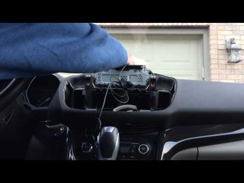 Ford Escape - SYNC 3 Upgrade Installation