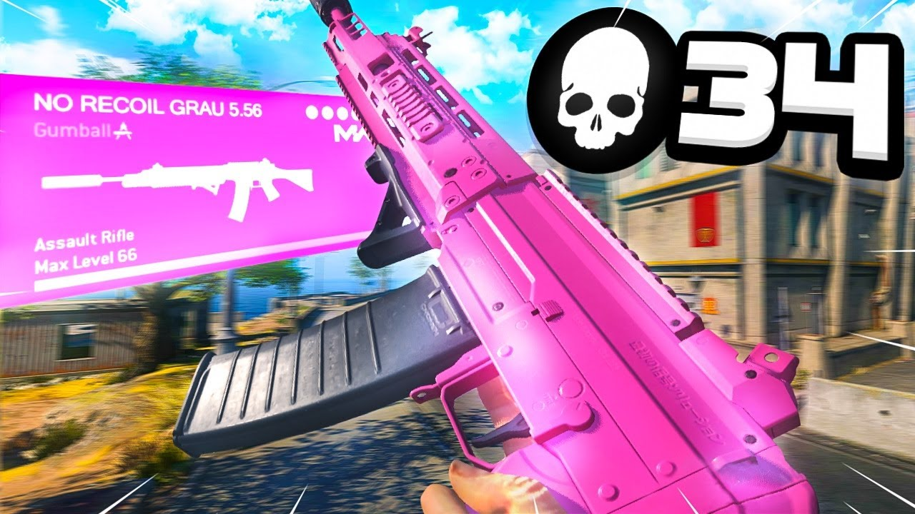 Download the GRAU 5.56 is GODLY on REBIRTH ISLAND! 👼 (Warzone)