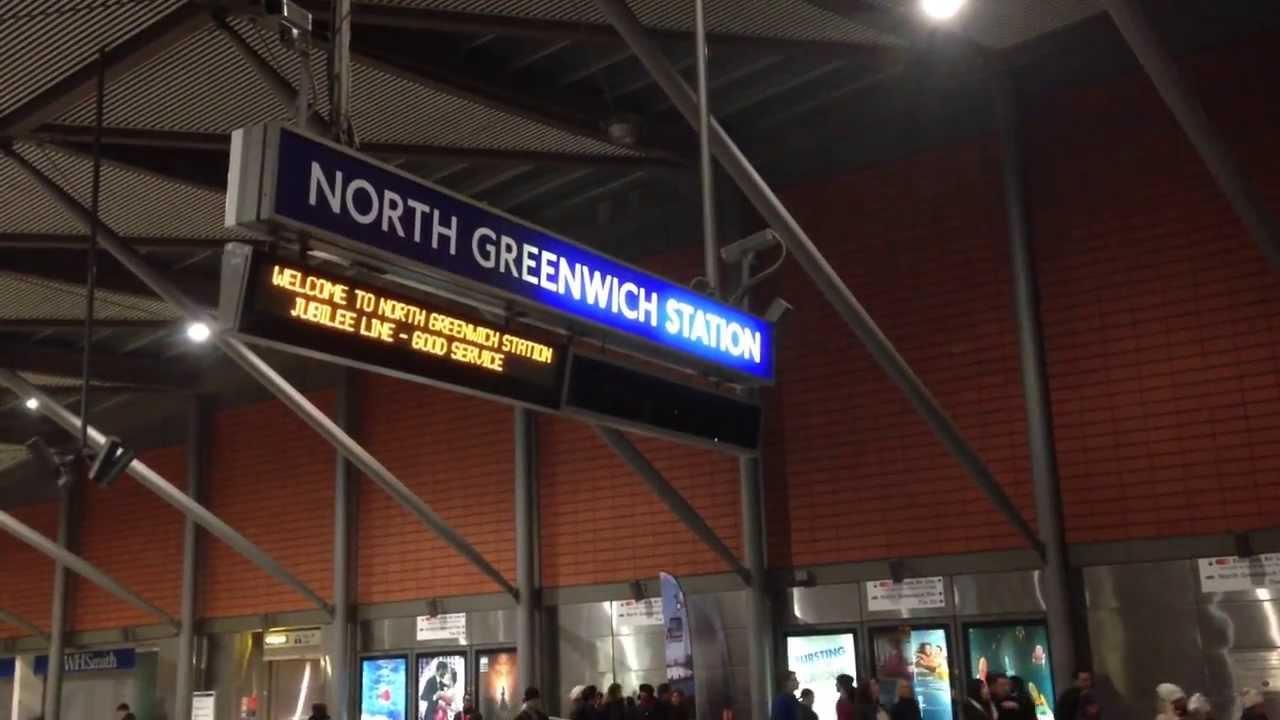 north greenwich underground tube station jubilee line. Black Bedroom Furniture Sets. Home Design Ideas