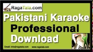 Haal e dil aaj hum - Pakistani Karaoke Track - Masood rana Karaoke
