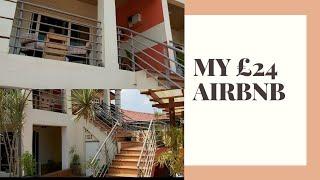 Gambar cover A SNEAK PEAK AT MY £24 AIRBNB APARTMENT IN ACCRA