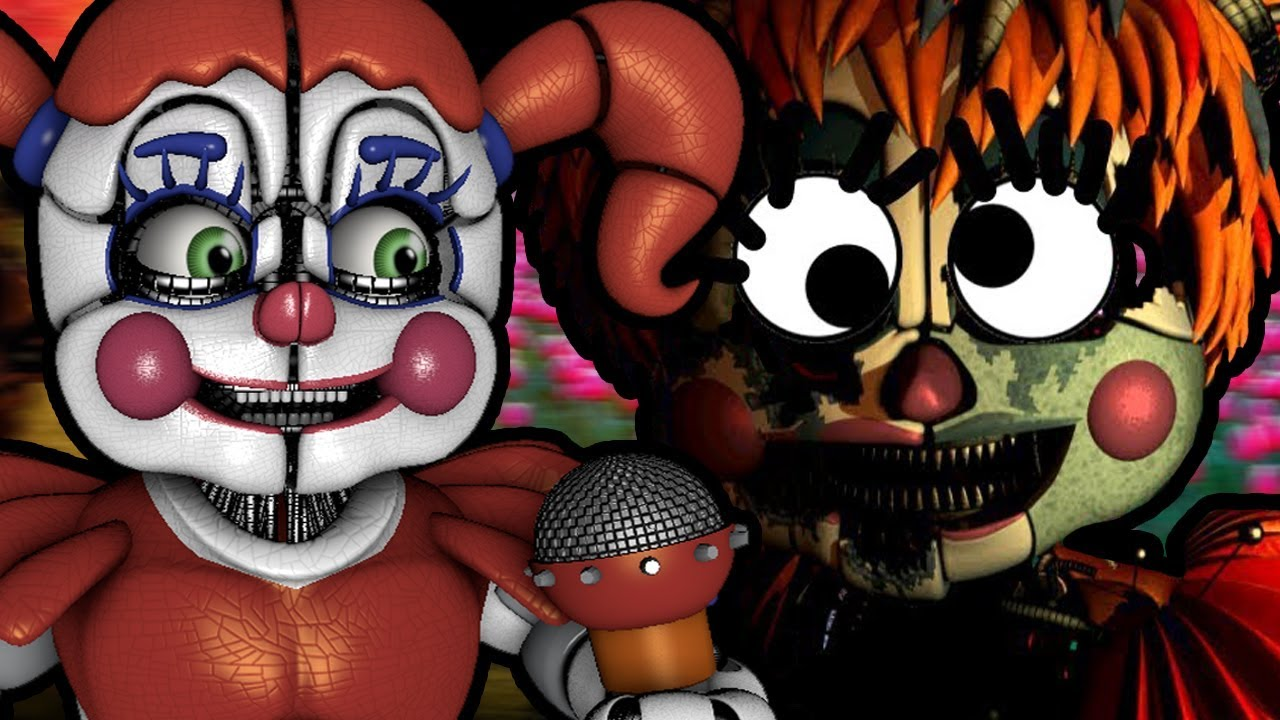 CIRCUS BABY REACTS TO: How to Make Five Nights at Freddy's 6 NOT Scary (ft   Dark Box)