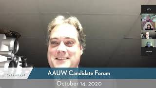 AAUW Candidate Forum // 10-14-20