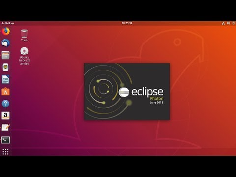 How to Install Eclipse Photon on Ubuntu 18 04 (Linux) - YouTube