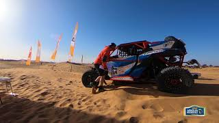 AFRQIUA MERZOUGA RALLY 2018 - STAGE 2 - RACE & RESULT