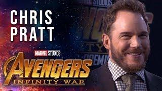 Chris Pratt Live at the Avengers: Infinity War Premiere