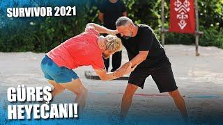 İSMAİL BALABAN DOMİNİK'TE GÜREŞTİ!   Survivor 2021