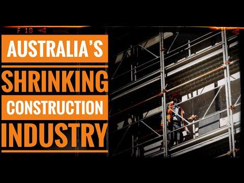 Australia's Shrinking Construction Industry