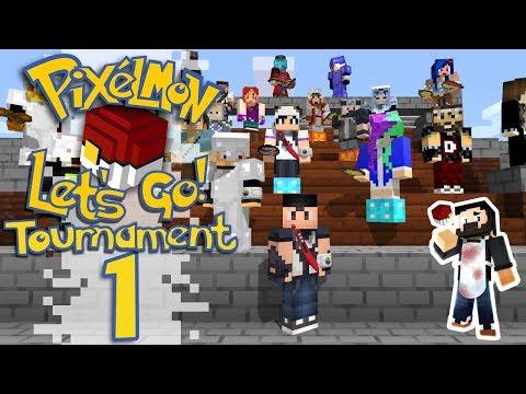 Pixelmon: Let's Go! - TOURNAMENT No.1 (Minecraft Pokemon) #PixelmonLetsGo