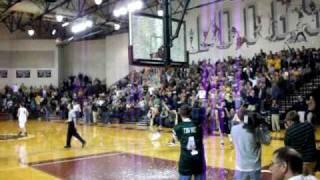 Grand Haven dunk shatters backboard | MJL7645