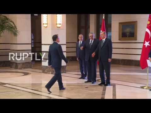 Turkey: Erdogan receives diplomatic credentials from new Russian ambassador