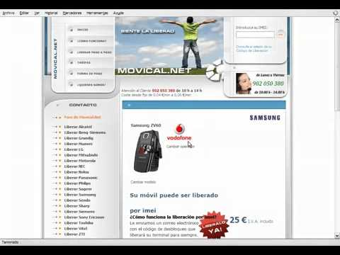 Liberar samsung zv60 en movical net youtube - Movical net liberar ...