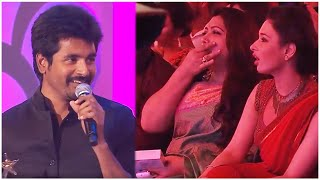Tamannaah And Kushboo Epic Reactions On Sivakarthikeyan's Superb Speech