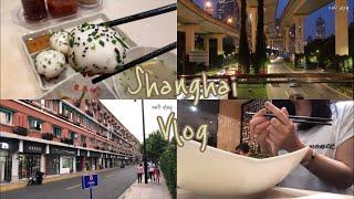 중국 상하이 브이로그??|동타이샹 셩지엔, 오이쇼 홈웨…