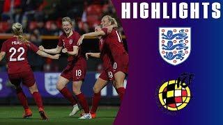 England 2-1 Spain | Lionesses Dominate Against Spain! | Lionesses