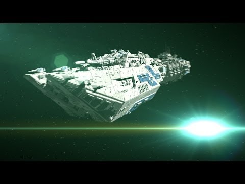 Epic Space Battle Scenes - Animation Tests // C4D
