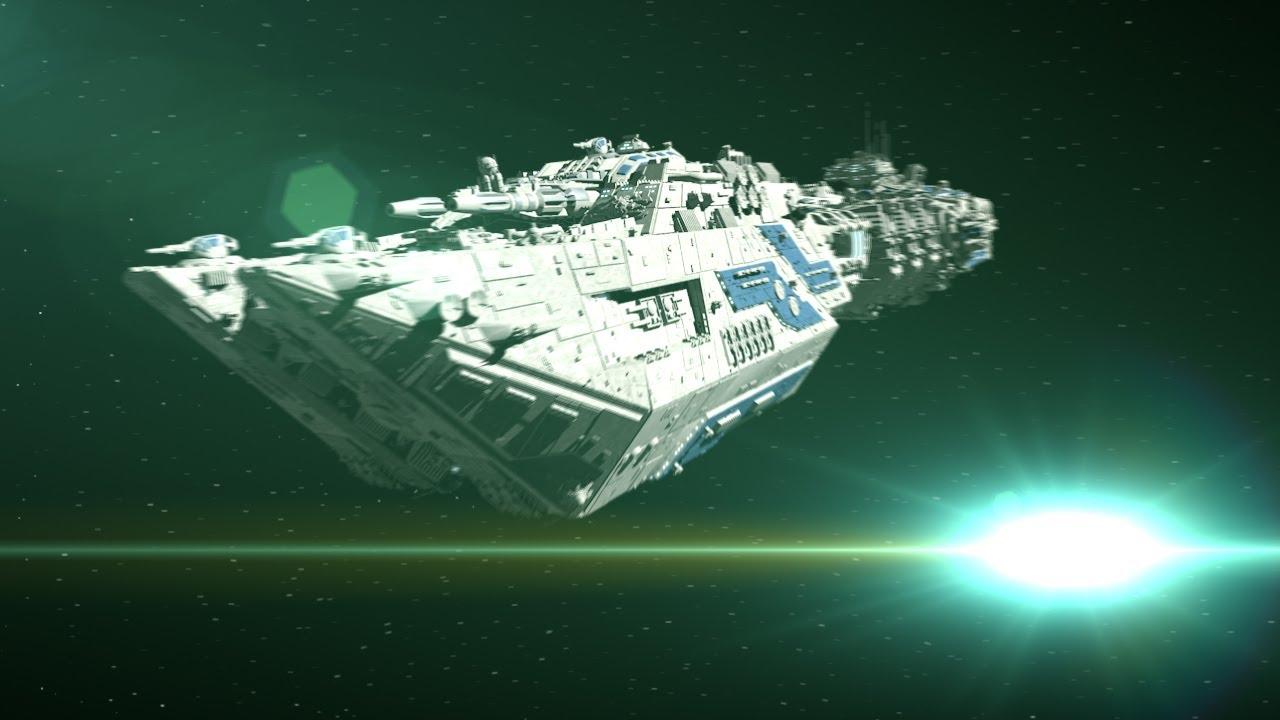 Star wars epic space battle