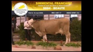 Concours Simmental SIA 2012