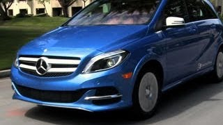 Car Tech - 2014 Mercedes B-Class Electric Drive(http://cnet.co/1fKtwEQ Mercedes builds it first electric car and does philosophical battle with BMW., 2014-05-01T23:33:37.000Z)