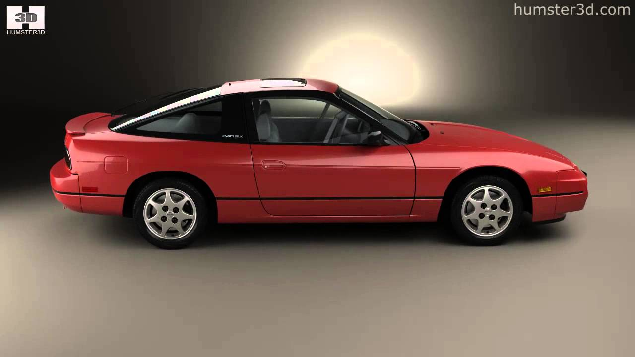 Nissan 240sx 1989 by 3d model store humster3d com