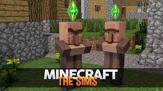 Minecraft MODs: The Sims no Minecraft! (Comes Alive)