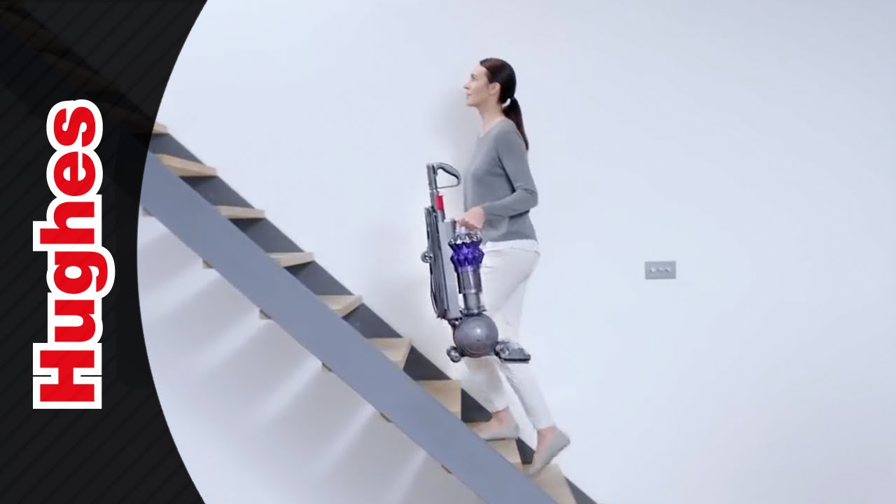 dyson small ball multi floor upright vacuum cleaner - youtube
