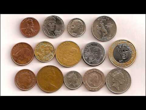 Coins from Brazil - Real (Brazilian money)