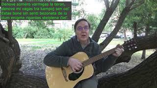 La tempo somera / Летнее время: песня на эсперанто (рус. субтитры)