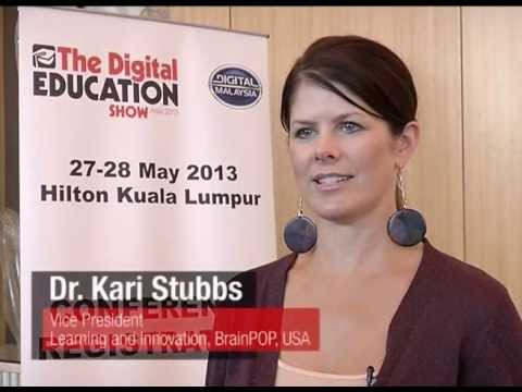 Interview with Dr. Kari Stubbs, BrainPOP at The Digital Education ...