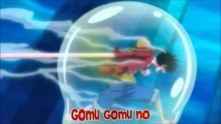 Luffy usa el RED HAWK contra Hody Jones [One Piece] [Subs Español]