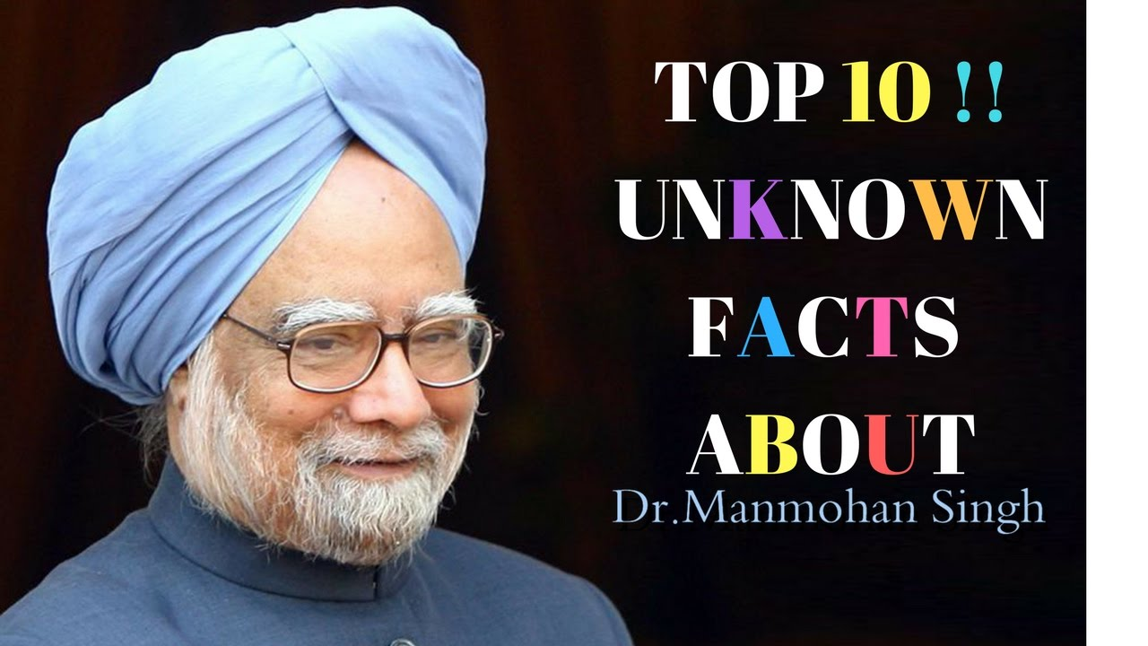 top 10 unknown facts about dr manmohan singh facts bell youtube