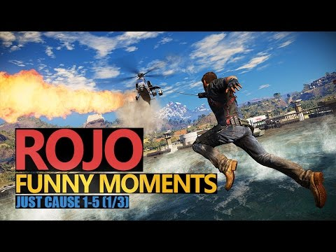 Funny Moments 101: JUST CAUSE 3 | 1/3 | Rojo & Urhara