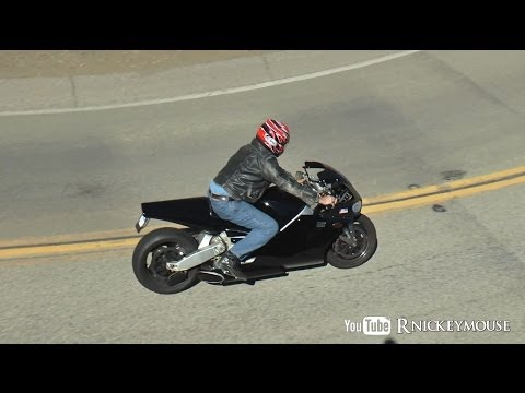 Awesome Sound of a Jet Powered Motorcycle