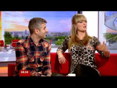 Morgana Robinson Terry Mynott  BBC Breakfast 2012
