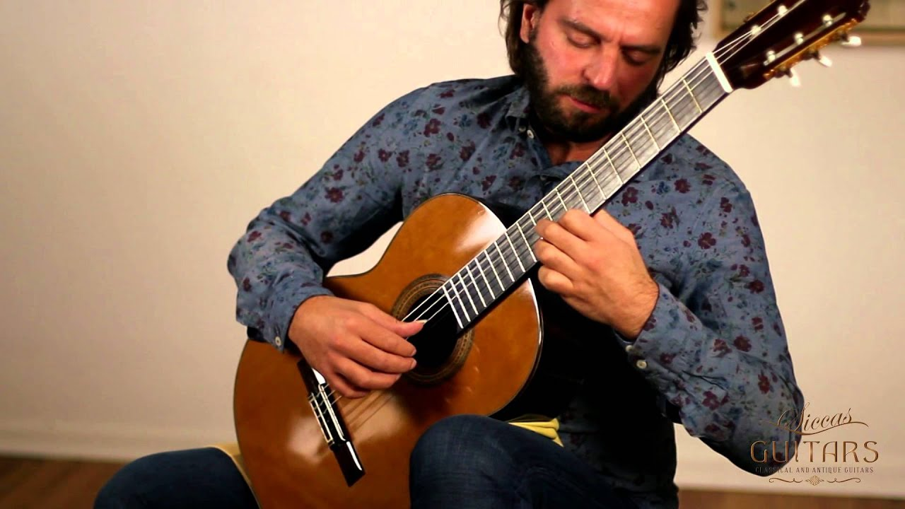Marcin Dylla plays El Columpio by Francisco Tárrega on a 1999 Ignacio Fleta e hijos