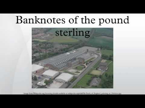 Banknotes of the pound sterling