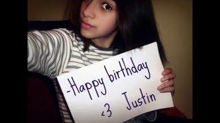 Happy B-day Justin! We love u!