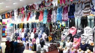 Shopping in bazar - Alanya