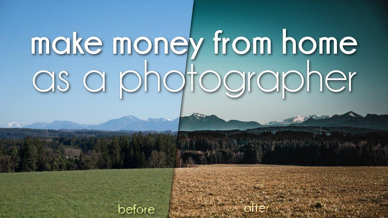 Fotografie Geld Verdienen