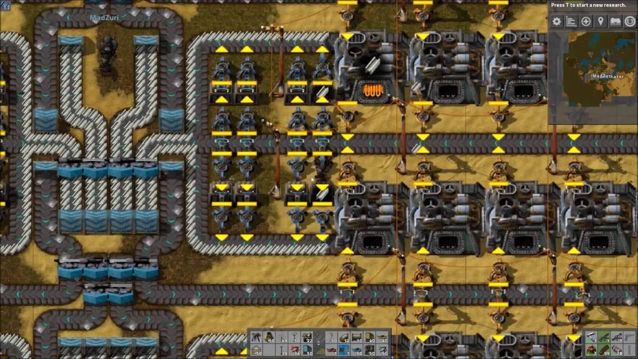 Factorio Workshop - Building A Better Factory :: Durenti's Steel Smelter  Design