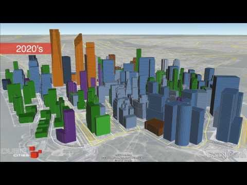 Lower Manhattan Growth Animation (1840-2020)