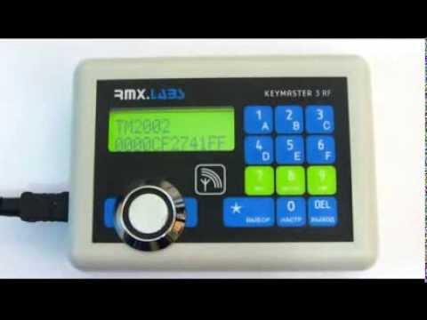 видео: Дубликатор домофонных ключей  keymaster3rf