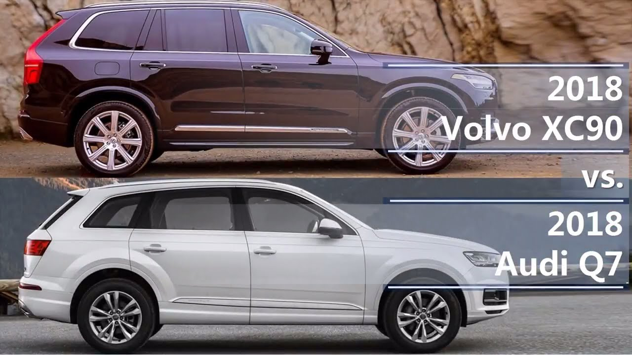 2018 Volvo Xc90 Vs 2018 Audi Q7 Technical Comparison