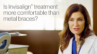 Orthodontist Testimonial | Is Invisalign Treatment Comfortable? | Invisalign