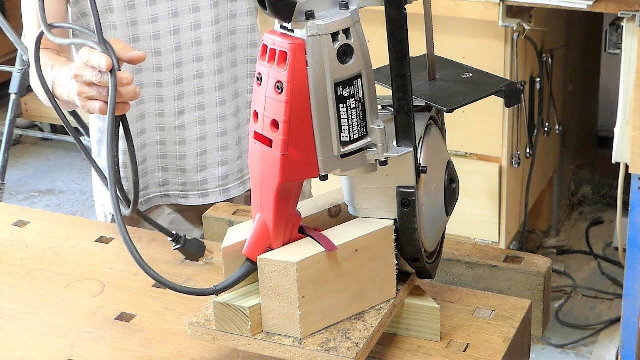 Make A Portable Band Saw Stand Very Simple