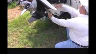 Lock-n-Haul/Mercury offset tilt piston install
